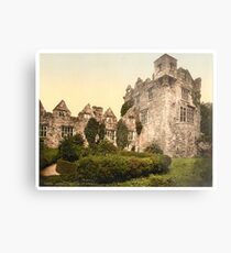 Vintage Photo-Print of Donegal Castle (1900) Metal Print