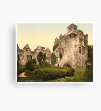 Vintage Photo-Print of Donegal Castle (1900) Canvas Print