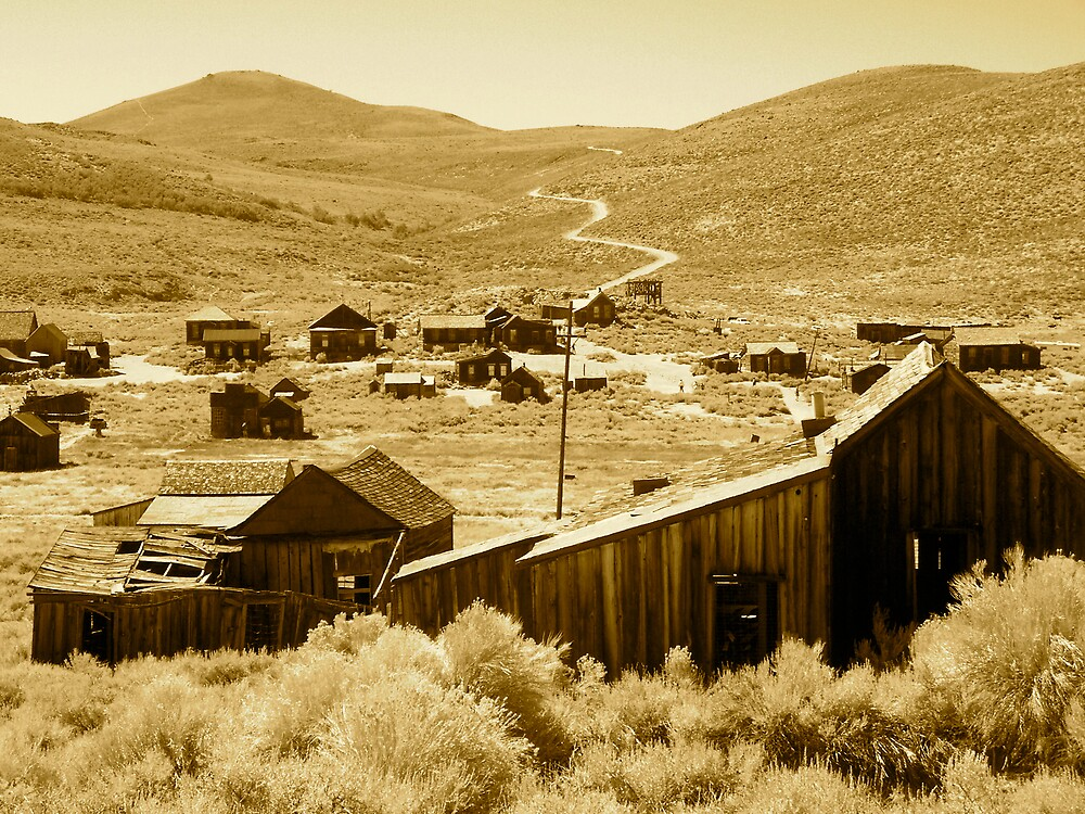 The Ghost Town Trail by krandy