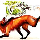 The Maned Wolf by mstaton