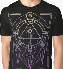 Geo Ring Graphic T-Shirt