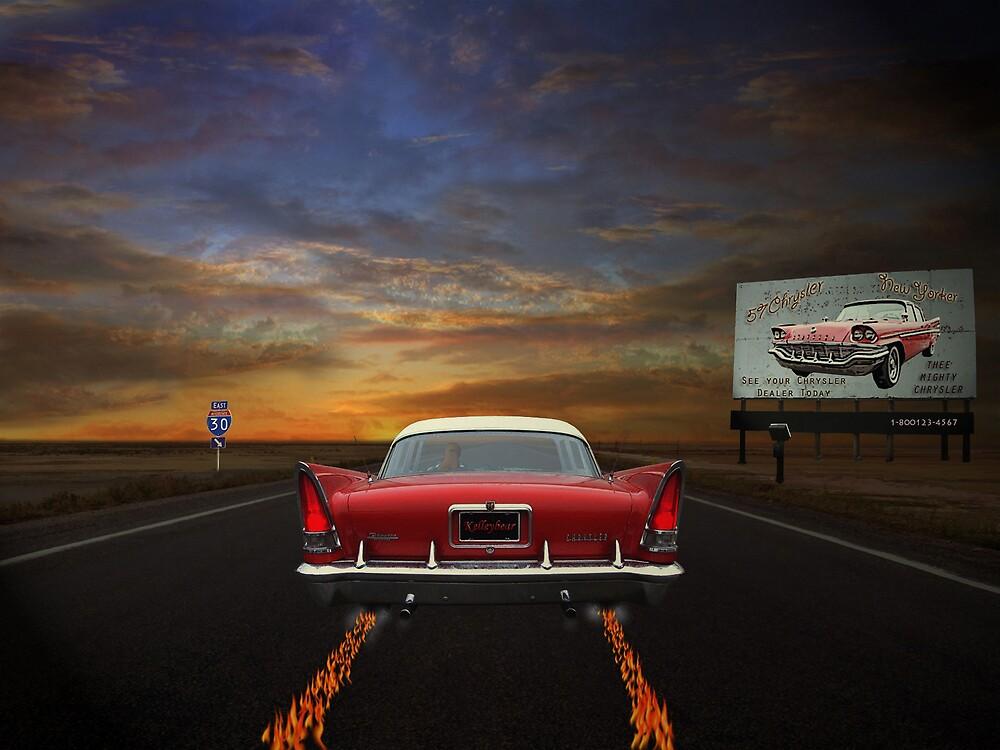 Burning up the Road  by kelleybear