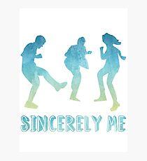 Sincerely Me- Dear Evan Hansen Photographic Print