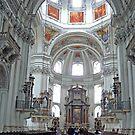 Inside Salzburg Dom by Graeme  Hyde