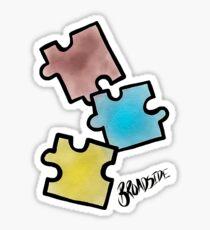 Broadside // Puzzle Pieces  Sticker