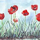 Mohn bedeutet Frühling! von Maree Clarkson