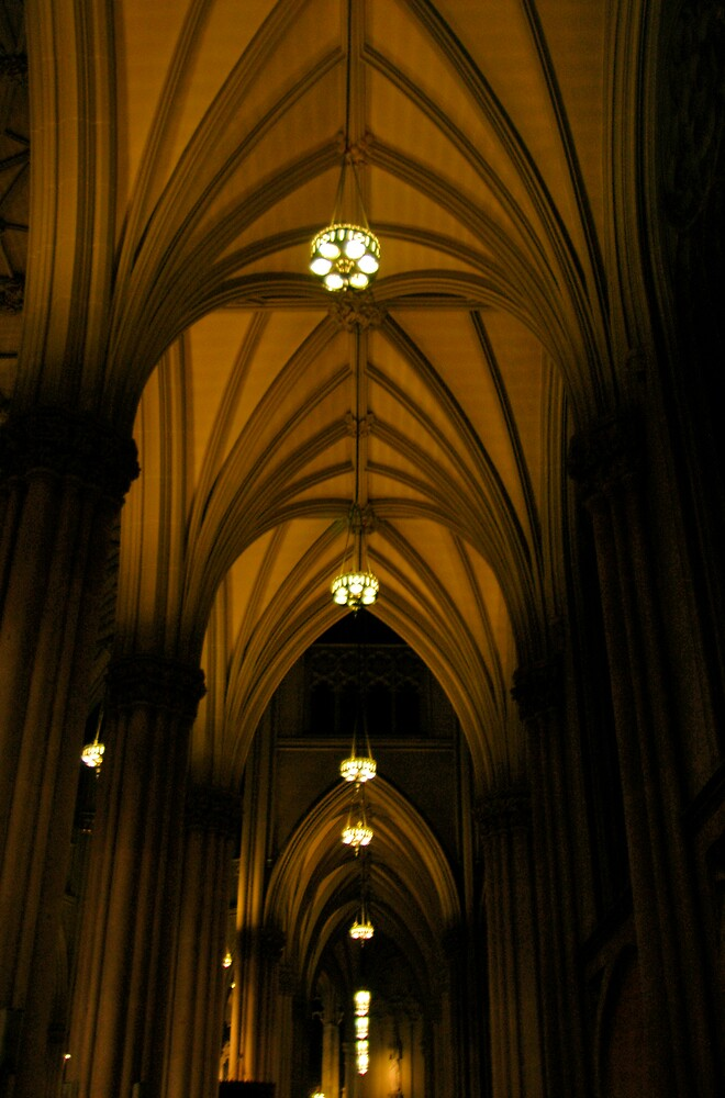 Cathedral, New York by Wilson Wyatt  Photography