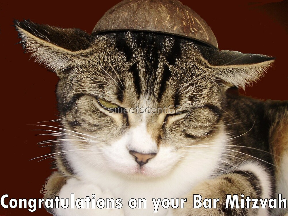 Congratulations on your Bar Mitzvah! by sweetscent62