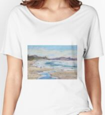 Rainbow Beach - plein air Women's Relaxed Fit T-Shirt