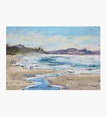 Rainbow Beach - plein air Photographic Print