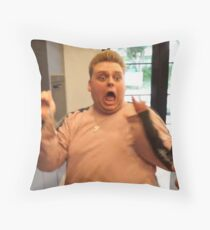 Nick Crompton From The City of England Throw Pillow