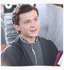 Tom Holland - On Set Poster