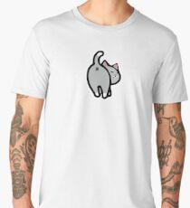 Bitmoji Cat Butt Shirt - HQ Men's Premium T-Shirt