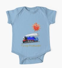 Flying Scotsman for Kids design One Piece - Short Sleeve