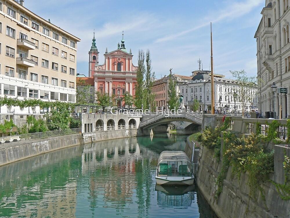 Ljubljana Slovenia by Graeme  Hyde