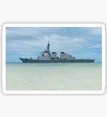 The Japanese guided missile destroyer JDS Kirishima. Sticker