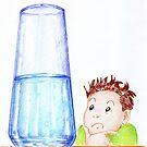 Il famoso bicchiere- Glass half...? by Francesca Romana Brogani