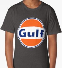 Gulf oil Logo Long T-Shirt