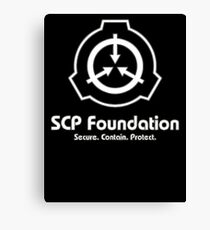 Scp Foundation Canvas Print