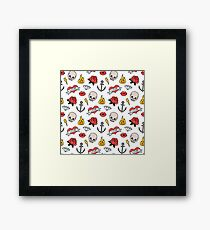 Rock and roll! Framed Print