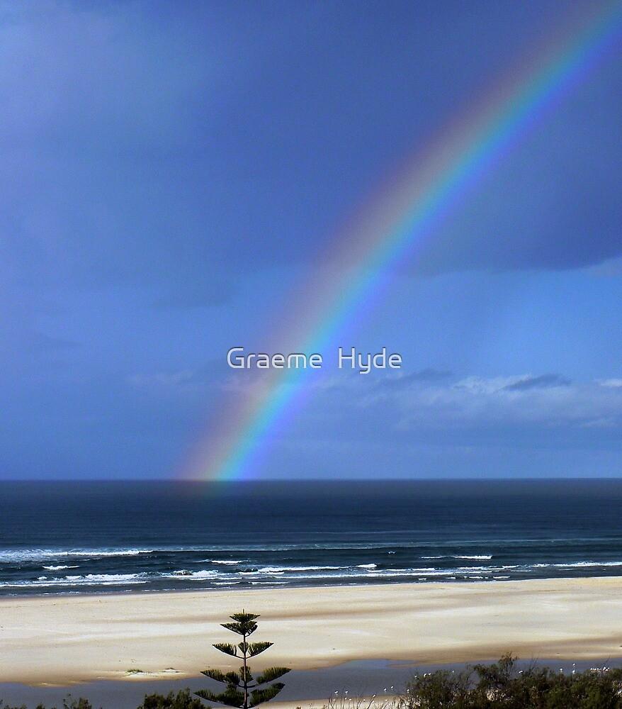 My Rainbow lies o'er the Ocean by Graeme  Hyde