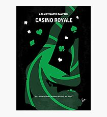 No277-007-2- Casino Royale minimal movie poster Photographic Print