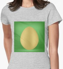 Single Egg Womens Fitted T-Shirt