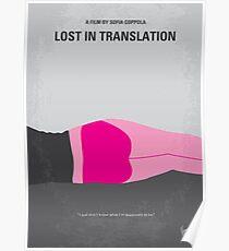 No287- Lost in Translation minimales Filmplakat Poster