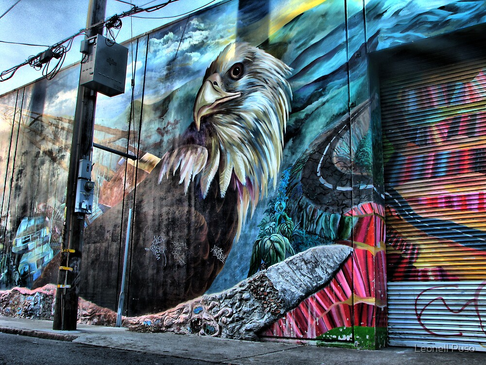 Eagle Pole by Leonell Puso