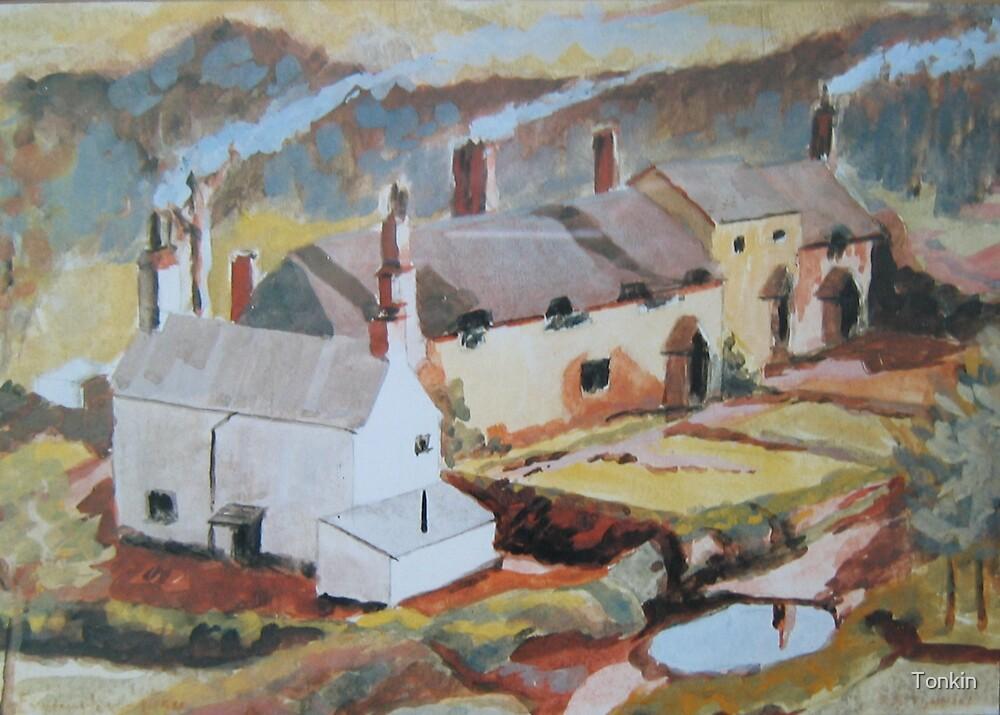 Exminster, Devon, 1954 by Tonkin