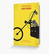 No333- EASY RIDER minimal movie poster Greeting Card