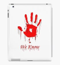 Know We iPad Case/Skin