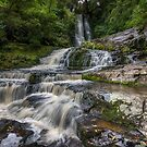 McLean Waterfall  by Linda Cutche