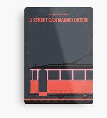 No397- street car named desire minimal movie poster Metal Print