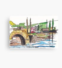 Afternoon traffic Canvas Print