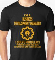 BUSINESS DEVELOPMENT MANAGER   NICE DESIGN 2017 Unisex T Shirt