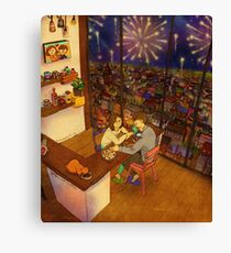 A little special night Canvas Print