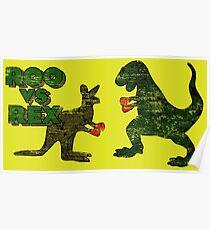 Roo vs. Rex Poster