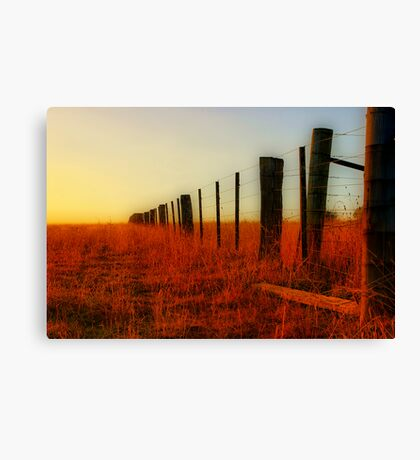 """The Boundary Line "" Canvas Print"