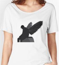 Travis Scott - Angel (Silhouette)  Women's Relaxed Fit T-Shirt