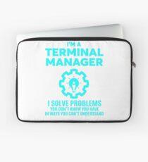 TERMINAL MANAGER - NICE DESIGN 2017 Laptop Sleeve