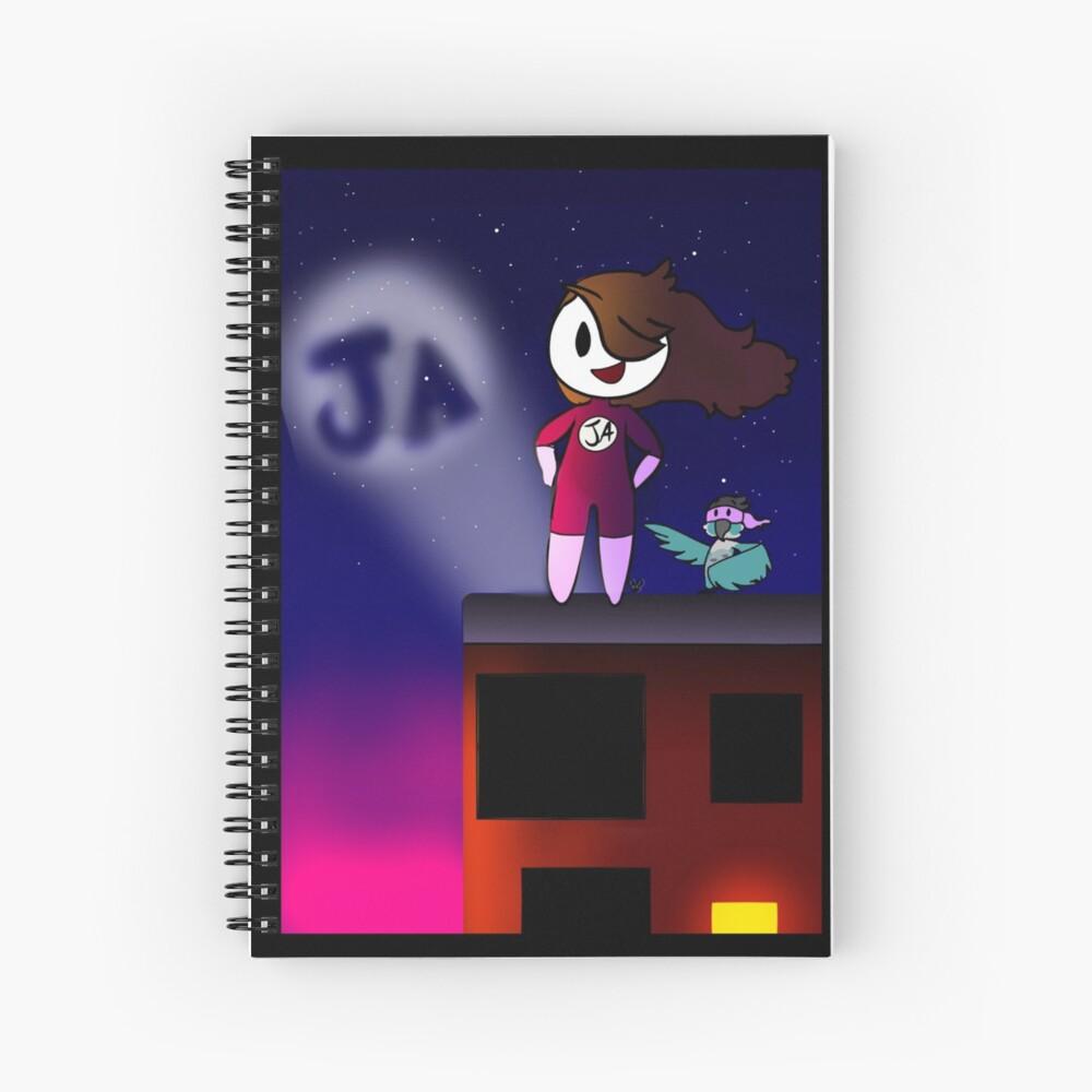 Jaiden and Ari Spiral Notebook