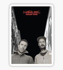 Sleaford Mods - ENGLiSH TAPAS | Album Poster Sticker