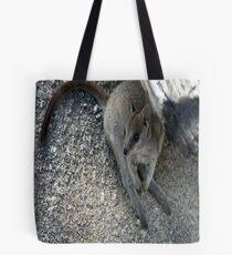 Mareeba Rock Wallaby Tote Bag