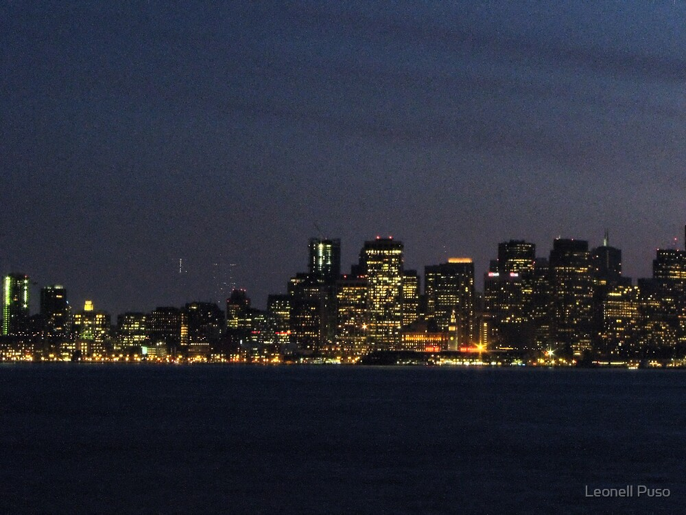 City Lights by Leonell Puso
