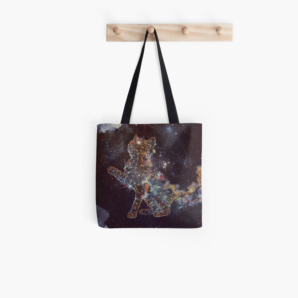 Himmlische Katze Stofftasche
