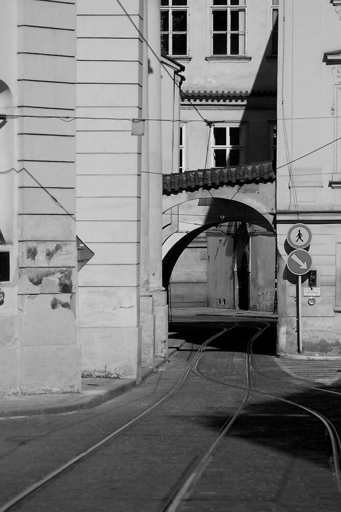 Tram lines, Prague by worthy87