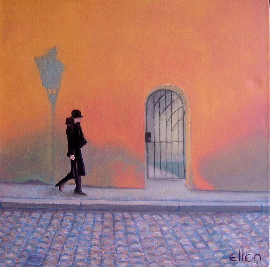 MALL WALK by Ellen McDermott