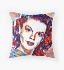 Just love classic ladies Throw Pillow
