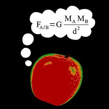 Apple Discovers Gravitation by tomfevrier